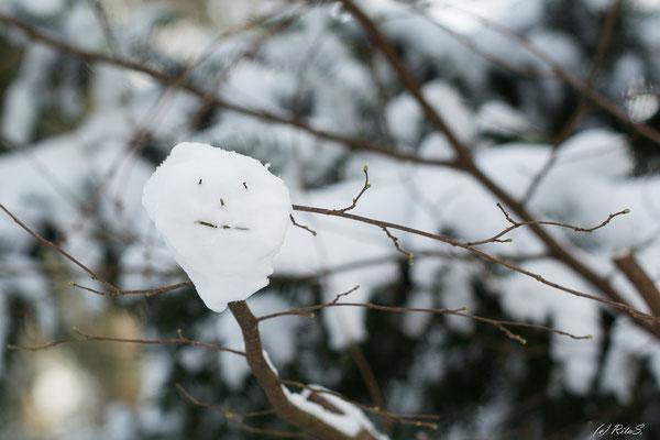 und ein Schnee-Smiley
