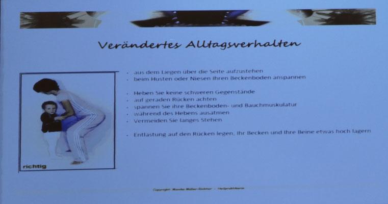 """Was frau schon immer einmal über Blasenschwäche wissen wollte…"""" Monika Müller-Richter"""