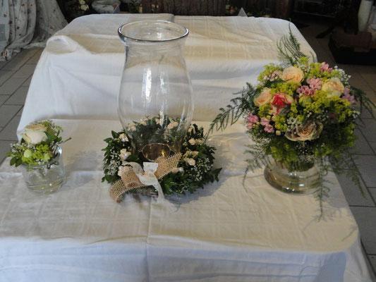Brautstrauß mit der wunderschönen romantischen Biedermeierrose