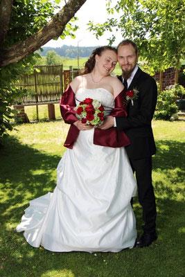 ein wunderschönes Brautpaar