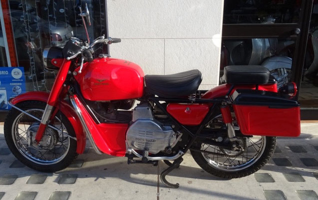 Moto Guzzi Falcone 500 cc. del 1976