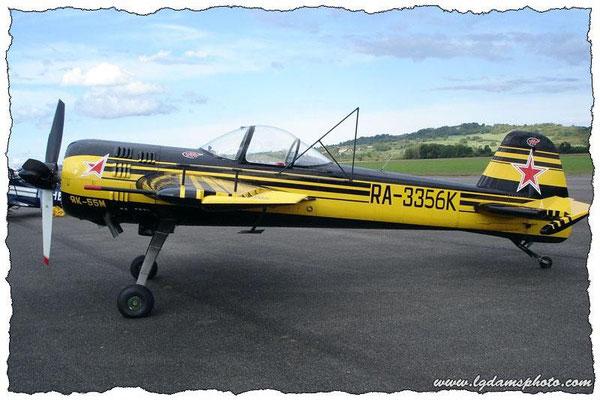 Yakovlev Yak-55M (meeting Vichy 2006)