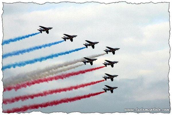 Alphajet de la patrouille de France (meeting Vichy 2006)