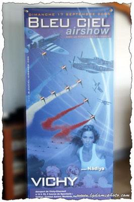Meeting de Vichy du 17 sept 2006 : Bleu ciel airshow