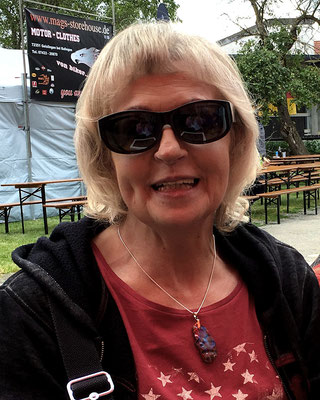 Jenny Kemerlinckx of the Belgium Route 66 Association bought no. 55