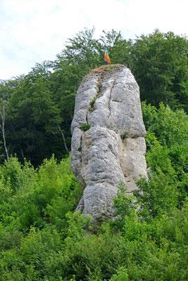 © Traudi - Gundelfingen, Fels unterhalb der Burg Hohengundelfingen