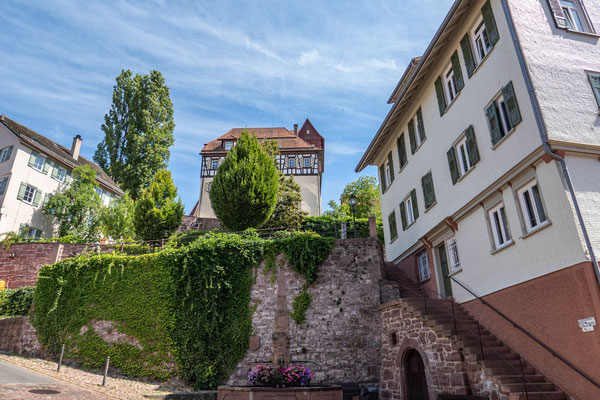 © Traudi - Marktbrunnen mit Sicht zum Schloss