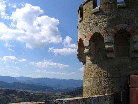 Aussicht vom Tour Magdala - © Traudi