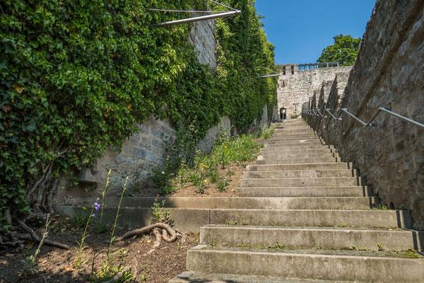 """© Traudi - diese vielen Stufen führen hinauf zum """"Neubau"""""""