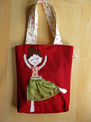 "© Traudi –  Kindertasche ""Ballerina""  -  April 2016"