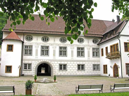 © Traudi – Residenzschloss Wiesensteig, Schlosshof