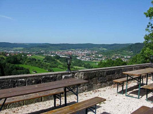 © Traudi – Burg Waldenstein, Aussicht auf Rudersberg