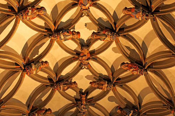 © Traudi - Netzgewölbe in der Marienkapelle