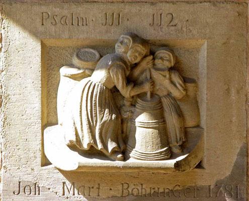 02.07.2011 (c) Traudi - Relief mit der doppeltgesichtigen Frau im Unteres Tor
