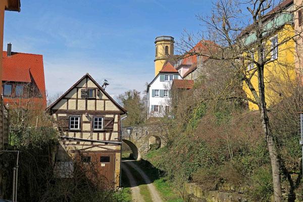 © Traudi - im Hintergrund der Turm der Stadtkirche