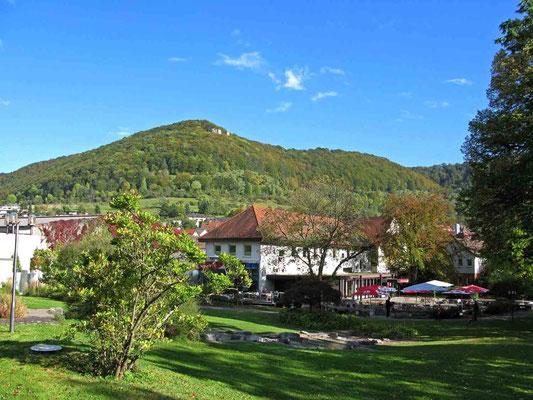 © Traudi - Blick vom Kurpark hinüber zum Kahlenstein