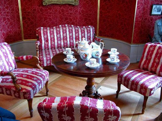 © Traudi 2012 – Schloss in Kirchheim u.T., Henriete's roter Salon