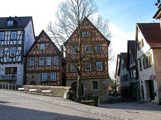© Traudi - Häuser in der Nähe des Geburtshauses von Schiller