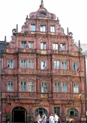 © Traudi - Heidelberg, Haus zum Ritter