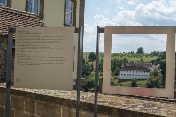 """© Traudi - """"Durchblick"""" zum ehemaligen Frauenkloster Kleincomburg"""