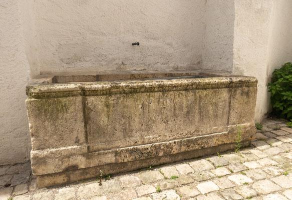 © Traudi - Brunnen in Ingolstadt am Schloss