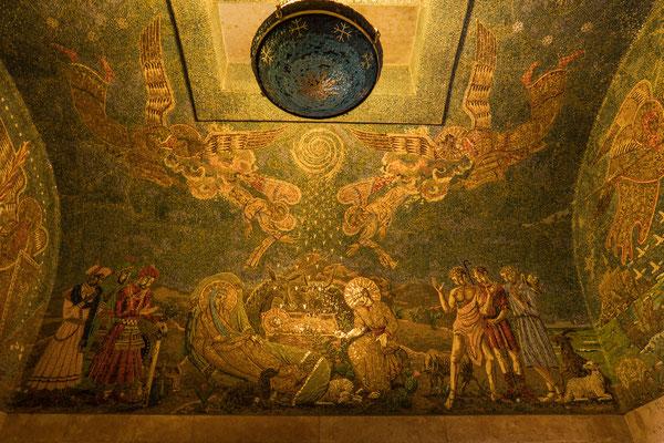 © Traudi - Geburt Jesu, links die hl. 3 Könige