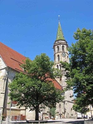 © Traudi  -  Auch die evangelische Stadtkirche verfiel dem Stadtbrand und wurde 1643-1660 wieder aufgebaut. Ursprünglich stammt sie aus den Jahren 1477-1511