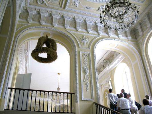 Schloss Hohenheim, Aufgang zum oberen Foyer - © Traudi