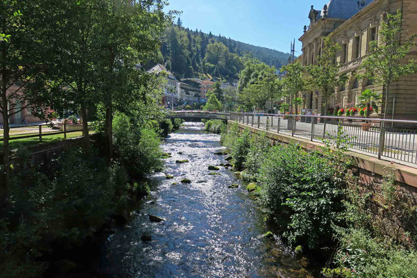 © Traudi -  Bad Wildbad. Die Enz