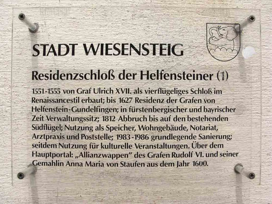 © Traudi – Residenzschloss Wiesensteig