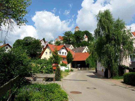 © Traudi  -  Auf dem Weg zur Burg durch Niederalfingen