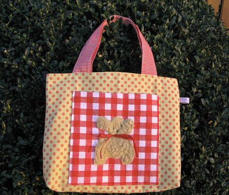 """© Traudi –  Kindertasche """"Teddy""""  -  März 2016"""