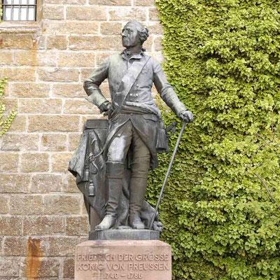 """Foto 2004 (c) Traudi / Friedrich der Große (""""der alte Fritz""""), König von Preußen, 1740 - 1786"""