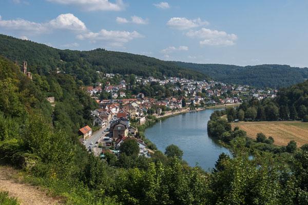 © Traudi - Aussicht nach Neckarsteinach
