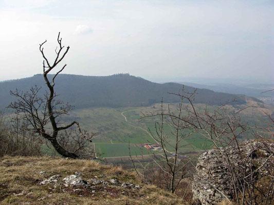 © Traudi - Blick hinüber zum Teckberg mit der Burg Teck
