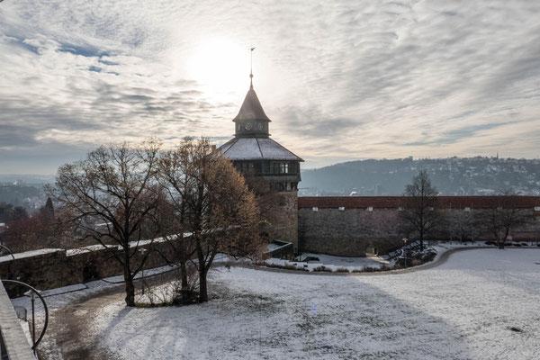 2017 © Traudi ***  Dicker Turm im Schnee