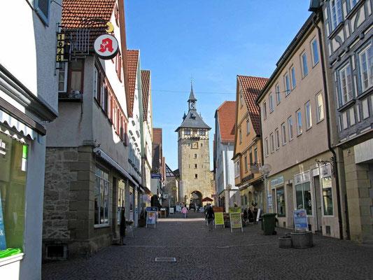 © Traudi - Oberer Torturm von der Marktstraße aus