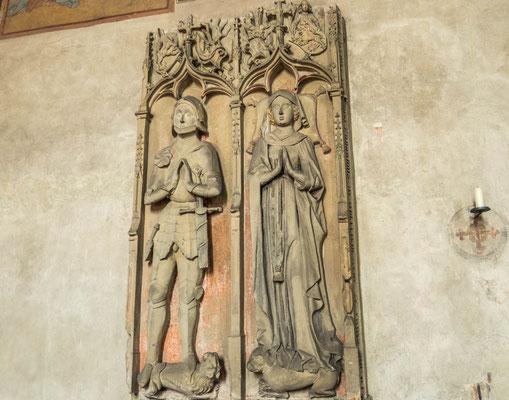 © Traudi - Grabmal des Melchior v. Hirschhorn und der Kunigunde von Oberstein, 15. Jh.