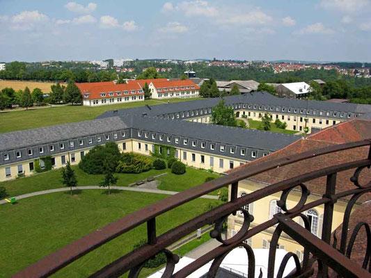 Schloss Hohenheim, Aussicht - © Traudi