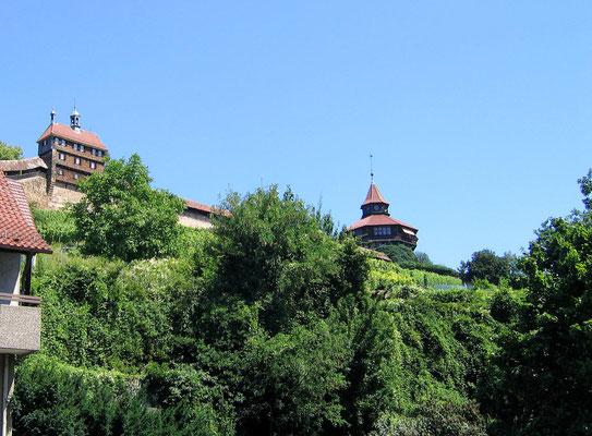 """© Traudi - Burg, die """"Hochwacht"""" und der Dicke Turm"""