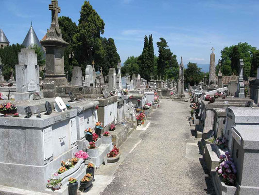 Carcassonne, Friedhof – © Traudi