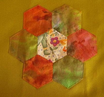© Traudi –  Januar 2015 - Hexagon-Motiv
