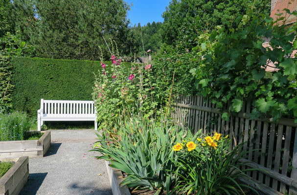 © Traudi - im Kräutergarten bei der Klosterruine Bad Herrenalb
