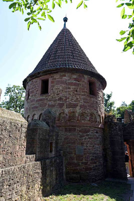 © Traudi - Der Holderturm wurde in der ersten Hälfte des 15. Jahrhunderts