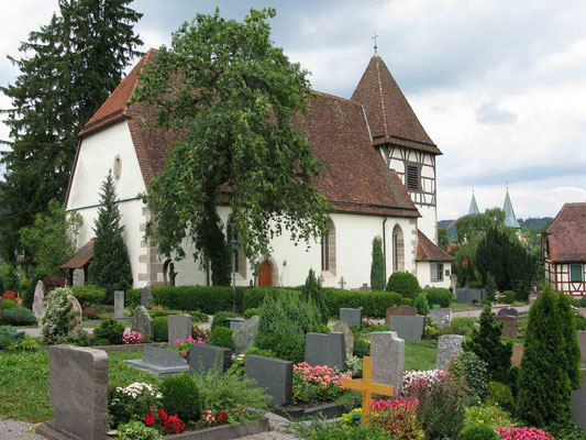 © Traudi - Walterichskirche, in der Abt Walterich beigesetzt ist.