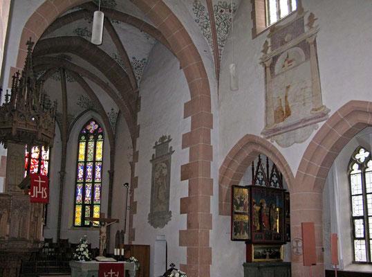 © Traudi - ehemalige Klosterkirche: heute Stadtkirche, Innenansicht