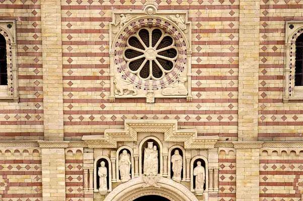 Foto (c) Traudi / Speyer, Dom, Detailansicht über dem Eingang