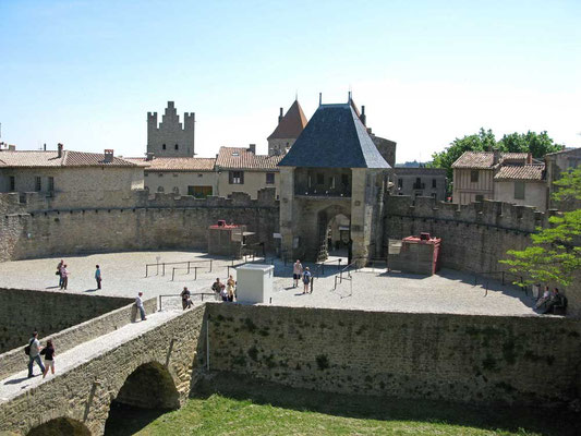 Carcassonne, Barbakane – © Traudi
