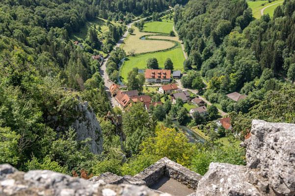 © Traudi - Blick hinunter nach Gundelfingen
