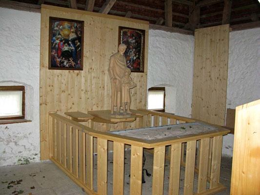 © Traudi  -  Kloster Heiligkreuztal, Josefshäusle innen